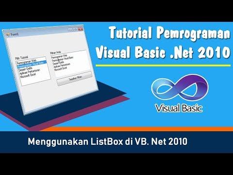 Cara Menggunakan Combobox Visual Basic
