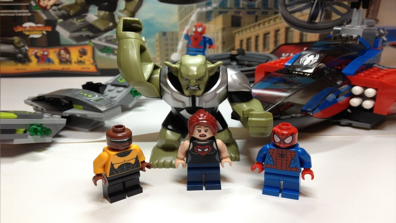 LEGO Super Heroes 76018 Hulk Lab Smash  amazoncom