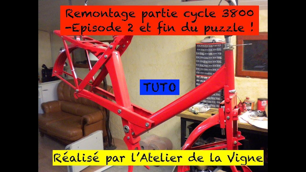 Download Solex 3800 : remontage de la partie cycle - Episode 2 et fin