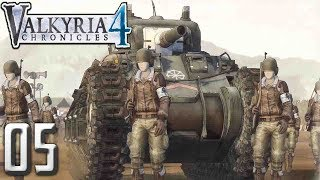 [4] Valkyria Chronicles 4 PC Gameplay Walkthrough - Ch. 4  Battle of Siegval!
