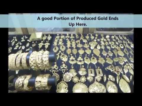Mali Gold Market