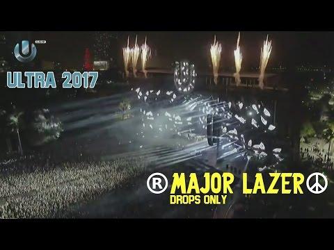 MAJOR LAZER - DROPS Compilation - ULTRA Music Festival Miami 2017