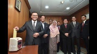 Amirudin mulakan tugas sebagai MB Selangor