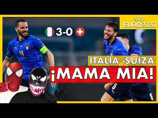 MUCHO CUIDADO con ITALIA😱😍 ITALIA 3 - SUIZA 0 🤔¿CANDIDATA A LA EUROCOPA?