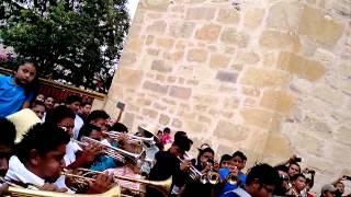Mañanitas con ls bandas d calenda tlaxiaco 2014