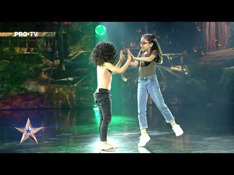 Mowgli de România a impresionat cu talentul lui | Aris Negoiță - Românii au Talent