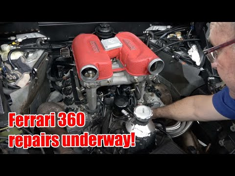 Ferrari 360 Modena – repair work started – unexpected problems! | MGUY