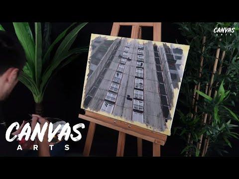 Amazing Skyscraper Building Painting Tutorial thumbnail