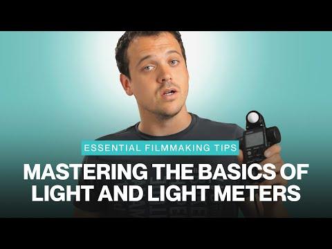 Filmmaking Tips: The Basics of Light & Light Meters - SMAPP Series