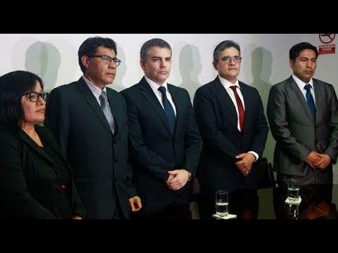 Fiscales Vela y Pérez dieron conferencia de prensa tras remoción de equipo Lava Jato | 90 Central