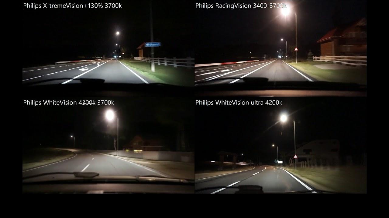 Philips White Vision Ultra More Light Car Headlight Bulbs H7 W5W 12972WVUSM