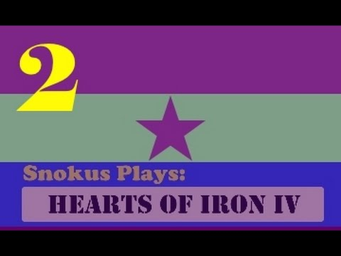 Snokus plays: Hearts of Iron 4 - The second Spanish republic [Part 2]