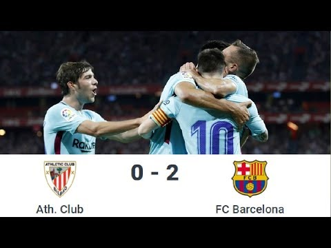 Season 2017/2018. Athletic Bilbao - FC Barcelona - 0:2