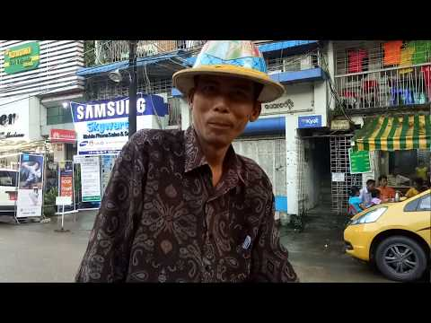 Myanmar Lifestyle - Wonderful take Tricycle travel around Yangon