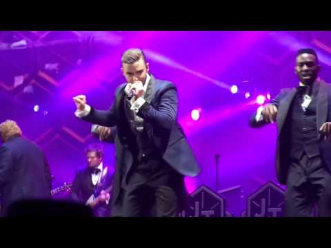 Justin Timberlake - Murder / Poison (Bell Biv DeVoe cover at Staples Center 11/26/13)