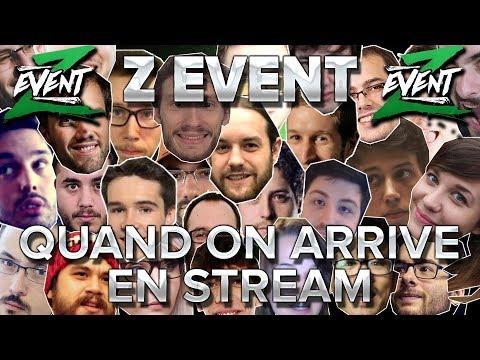 Z Event #25 : Chanson avec tout le monde : quand on arrive en stream