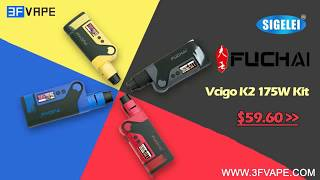 видео Sigelei Fuchai Vcigo K2 175W Kit Black
