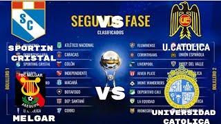 LOS EQUIPOS QUE LES TOCO EN EL SORTEO AL CRISTAL Y AL MELGAR COPA SUDAMERICANA (CONMEBOL 2019 HD)