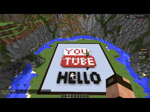 YouTube в майнкрафте !!! МАСТЕРА СТРОИТЕЛИ #1