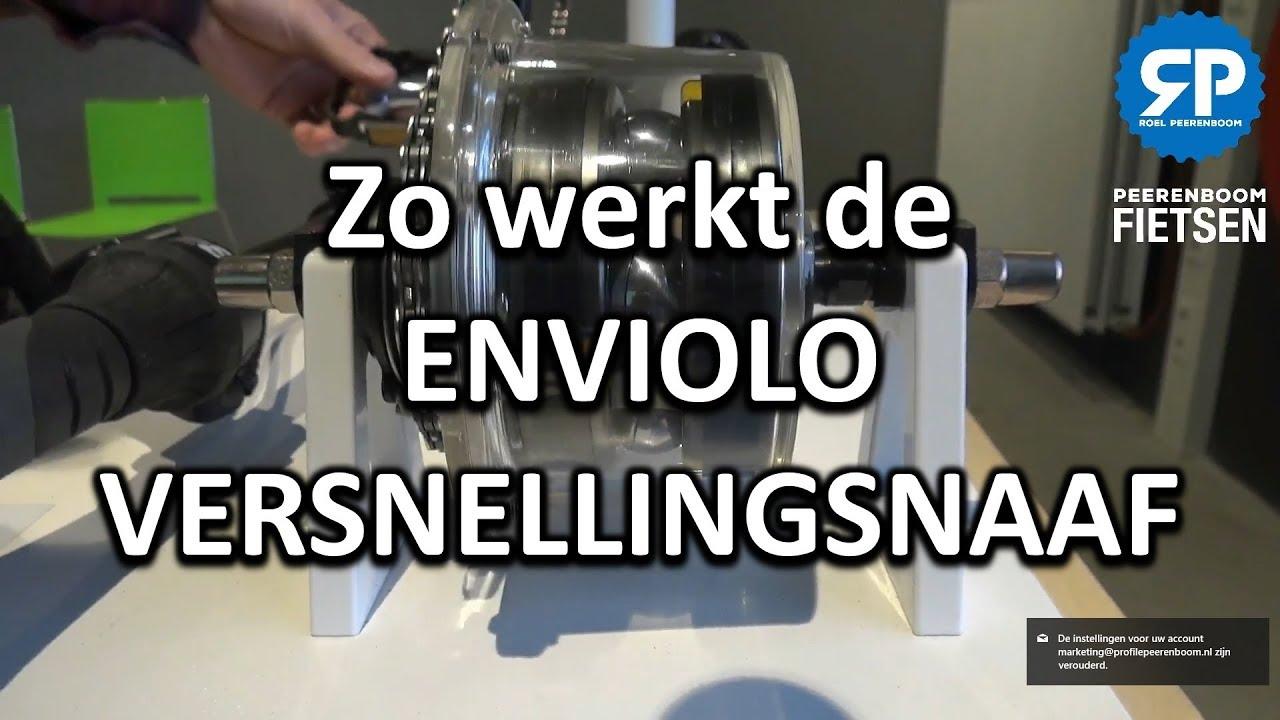 Zo werkt de ENVIOLO VERSNELLINGSNAAF