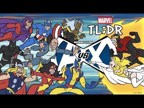 Avengers Vs. X-Men in 2 Minutes - Marvel TL;DR