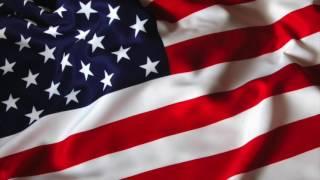 USA ANIMATED FLAG 1 HOUR For Videos,presentations,screensaver **free Use**