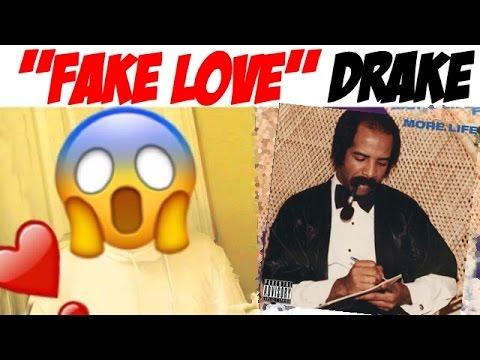 Fake Love - Drake  (REACTION)