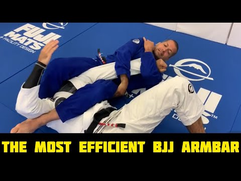 The Most Efficient BJJ Armbar (Arm Lock) By Dave Camarillo