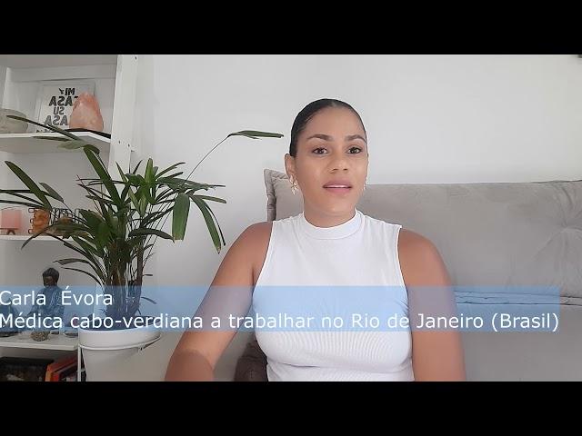 Entrevista Balai Cabo Verde: Carla Évora, médica cabo-verdiana  radicada no Brasil