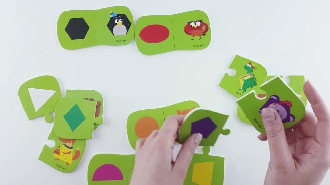 Vladi Toys VT5111-04 Игра настольная Мини игра Фигуры и цвета