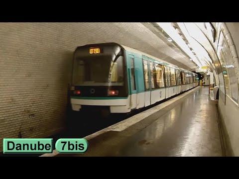 Métro de Paris : Danube | Ligne 7 bis ( RATP MF88 )
