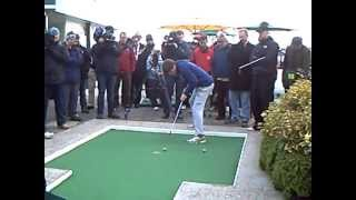 Castle Golf World Crazy Golf Championship 2012 - Final Hole of the Final Round - View 2