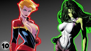 Top 10 Strongest Female Superheroes