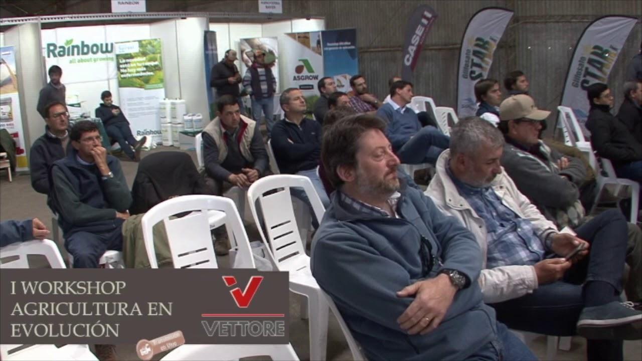 1º Workshop Agricultura en evolución Palestra 04 Vettore Transmissão Fly Camera