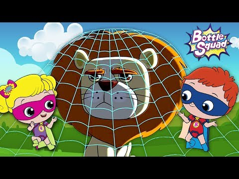 Going On A Lion Hunt | Bottle Squad | Superhero Videos For Babies | Cartoons For Toddlers by Kids Tv