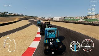 FIA European Truck Racing Championship Game - 3 Laps Race at Laguna Seca