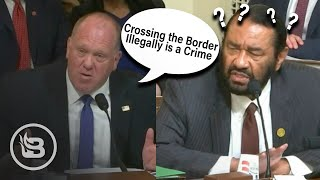 Former ICE Director Has to Explain to Democrat That Crossing the Border Illegally is a Crime