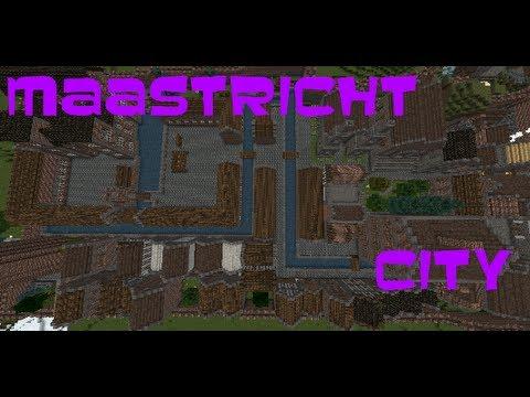 Minecraft creations   Maastricht