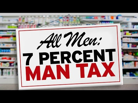 Pharmacy Taxes Men For Being Men