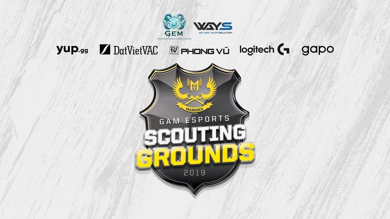 Live stream vòng offline GAM eSports Scouting Grounds