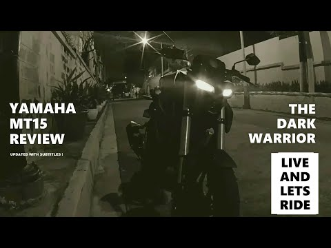 Yamaha MT15 Review The Dark Warrior