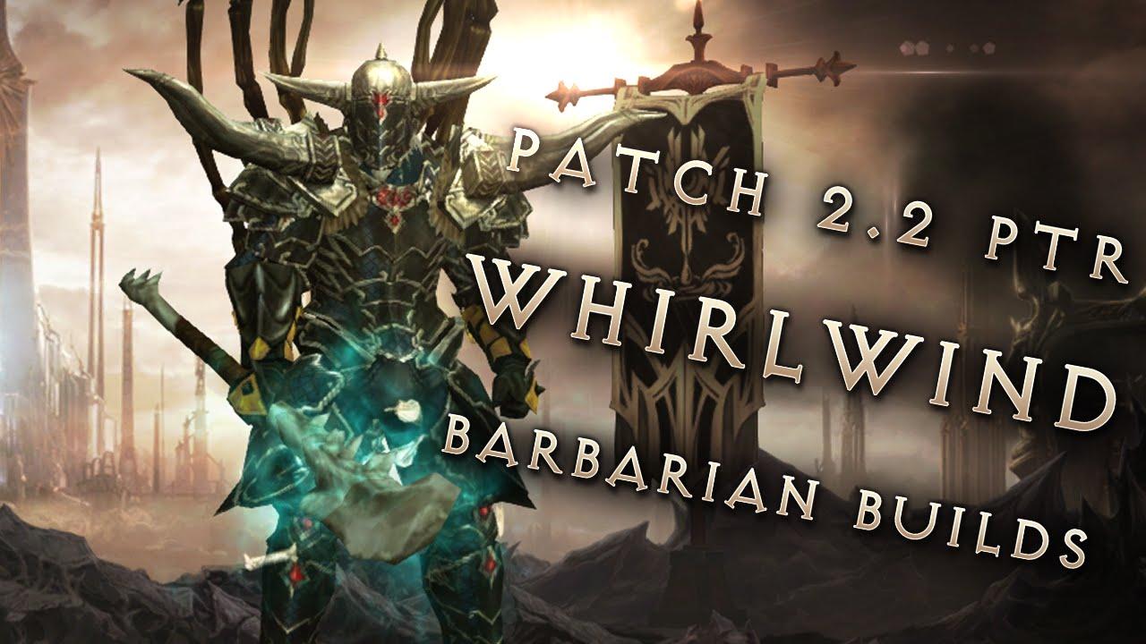 Barbarian Builds Diablo  Whirlwind