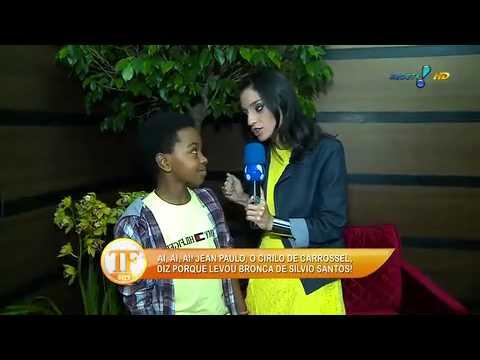 Ex 'Cirilo' Faz Mistério Sobre Novo Trabalho Na TV - TV Fama 18/09/2014