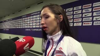 Sofia Ennaoui po zdobyciu srebrnego medalu na ME Berlin 2018