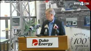 Senator Lindsey Graham Takes A Tour Of The Oconee Nuclear Plant