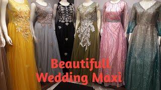 Wedding Maxi Dress Design Bridal Party Wear Important Maxi with Price Saddar Rawalpindi Pakistan