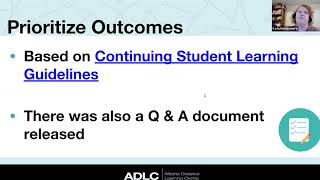 I Have an ADLC Resource...Now What?
