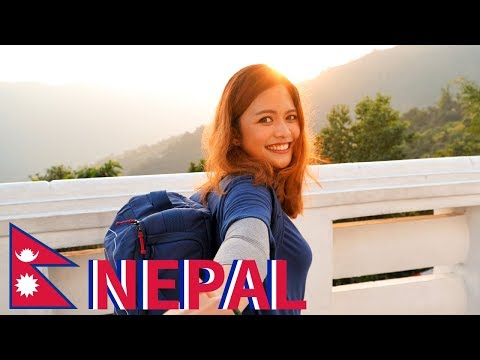 Pokhara in NEPAL is DIFFERENT! - Hike to World Peace Pagoda