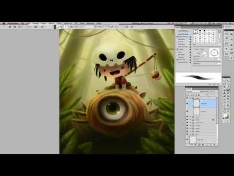 Speed Painting: Create a Fantasy Storybook Illustration