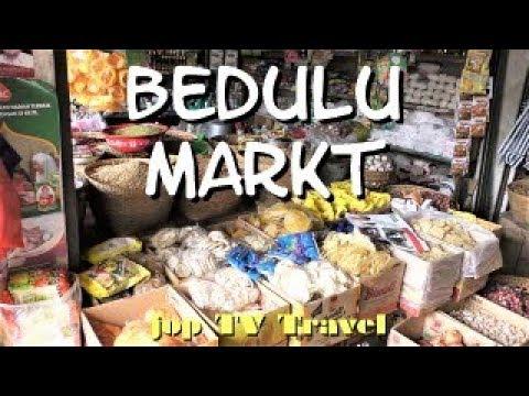 Rundgang Durch Den Markt Von Bedulu In 3 Minuten Bali  Jop TV Travel